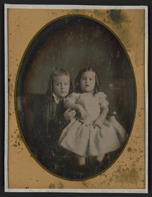 Portrait fo Two Children - Solomon Nunes Carvalho - What is a Daguerreotype? - FilterGrade