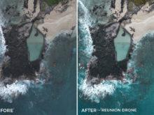 Reunion Drone - Alex Tritz Lightroom Presets Volume 3 - FilterGrade