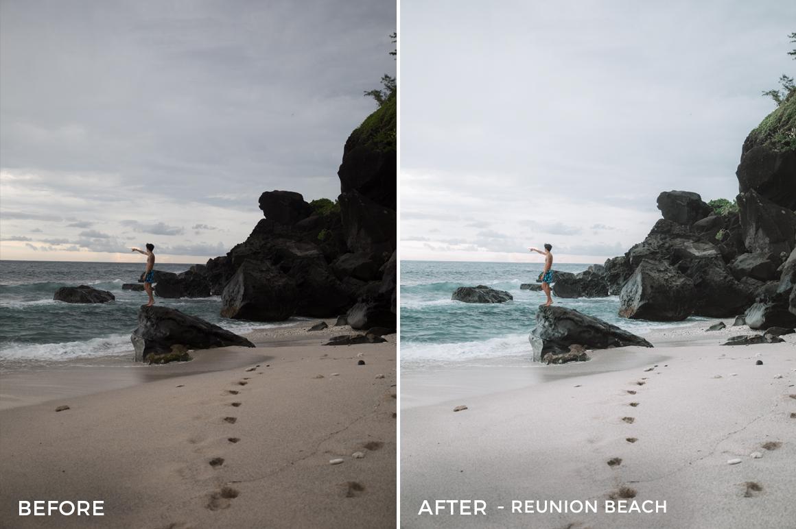 Reunion Beach - Alex Tritz Lightroom Presets Volume 3 - FilterGrade
