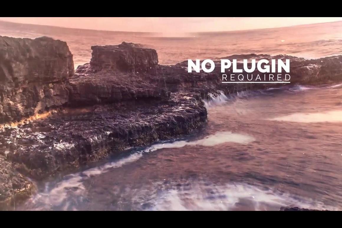 no plugins ae template