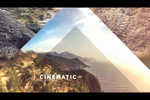 cinematic parallax slideshow