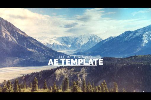 modern cinematic ae template