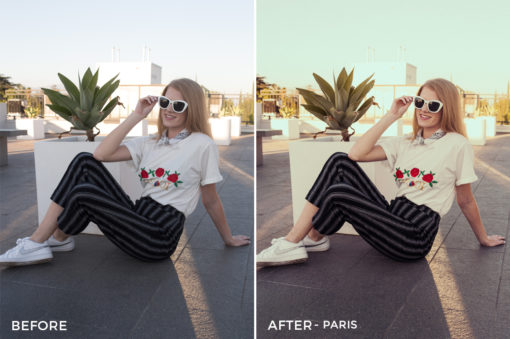 Paris - Pastel x LS Lightroom Presets - FilterGrade