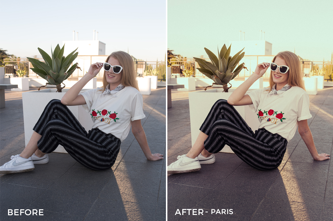 Paris - Pastel x LS Lightroom Presets - FilterGrade