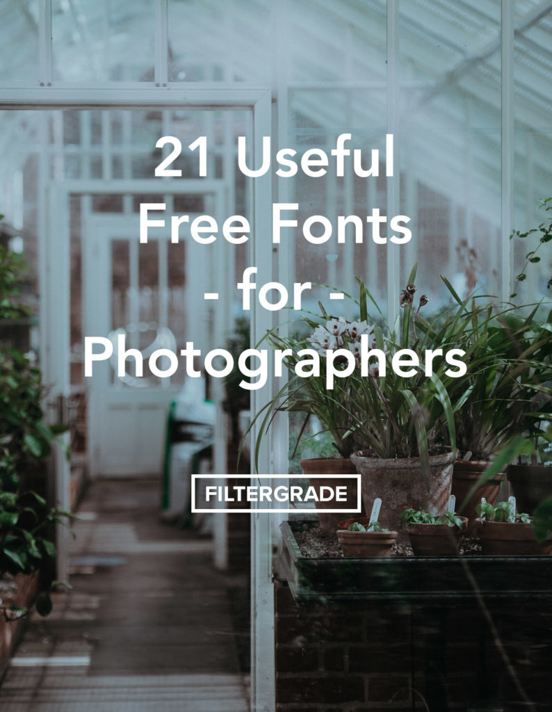 Useful free fonts for photographers! Find elegant typefaces, signature fonts, brush strokes, and more.
