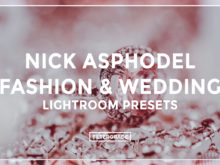 Nick Asphodel Fashion & Wedding Lightroom Presets - FilterGrade