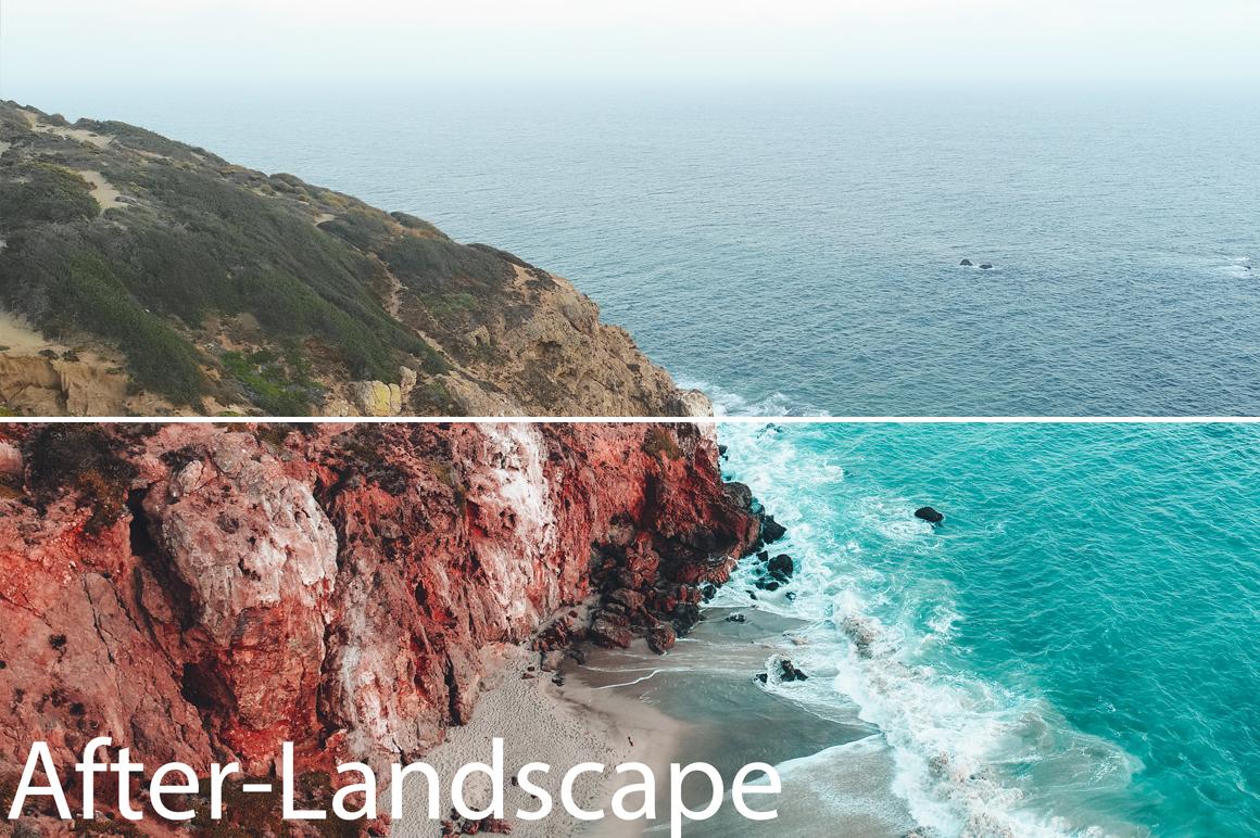 Landscape - August Reinhardt Lightroom Presets - FilterGrade