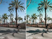 Teal Beach - Mikhail Malyugin Spain Lightroom Presets - FilterGrade