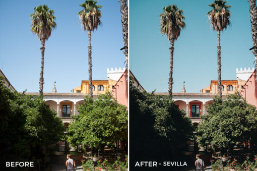 Sevilla - Mikhail Malyugin Spain Lightroom Presets - FilterGrade
