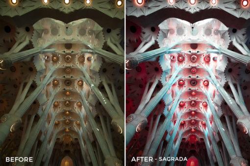 Sagrada - Mikhail Malyugin Spain Lightroom Presets - FilterGrade