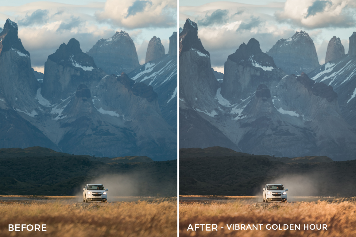 Vibrant Golden Hour - Catherine Simard Lightroom Presets - FilterGrade