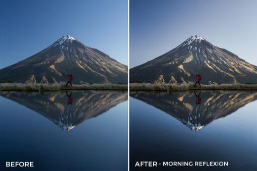 Morning Reflexion - Catherine Simard Lightroom Presets - FilterGrade