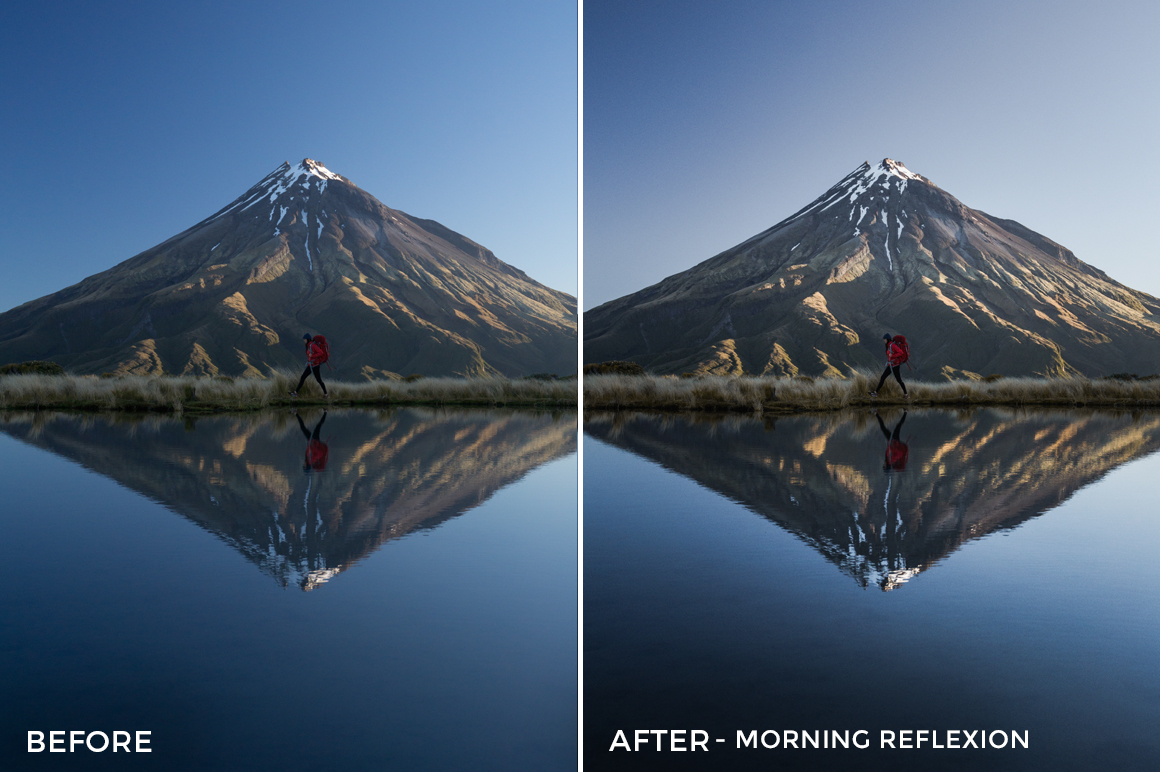 Morning Reflexion - Catherine Simard Lightroom Presets - FilterGrade