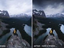 Dark & Moody - Catherine Simard Lightroom Presets - FilterGrade
