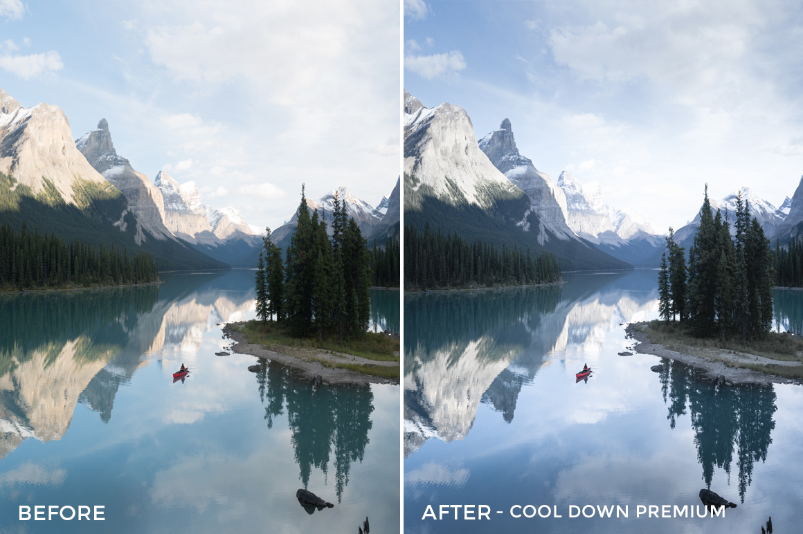 Cool Down Premium - Catherine Simard Lightroom Presets - FilterGrade