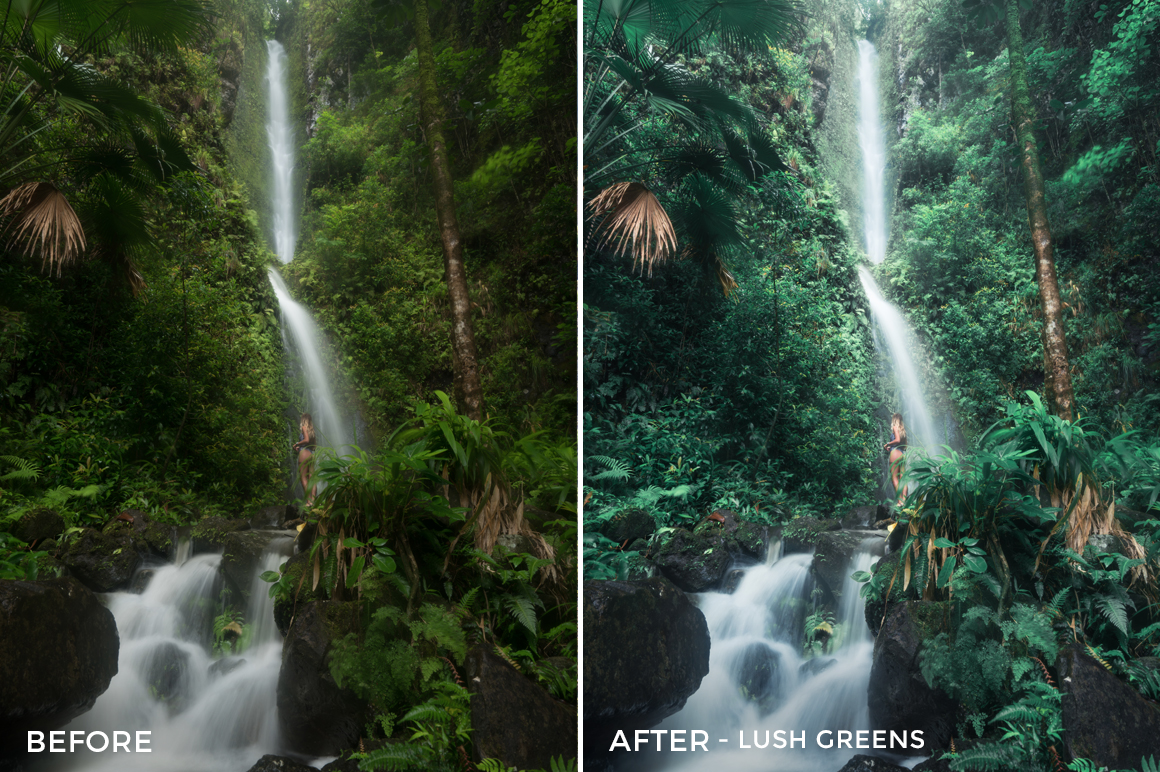 Lush Greens - Catherine Simard Lightroom Presets - FilterGrade