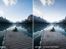 Clean Contrast - Catherine Simard Lightroom Presets - FilterGrade