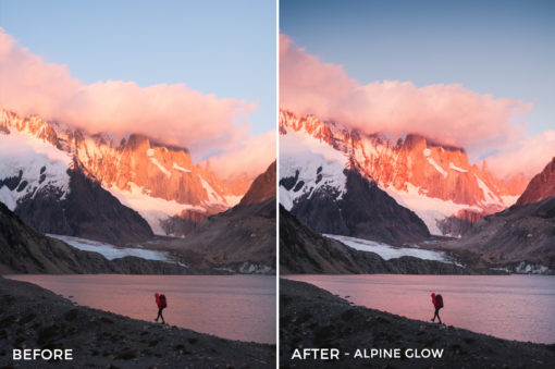 Alpine Glow - Catherine Simard Lightroom Presets - FilterGrade