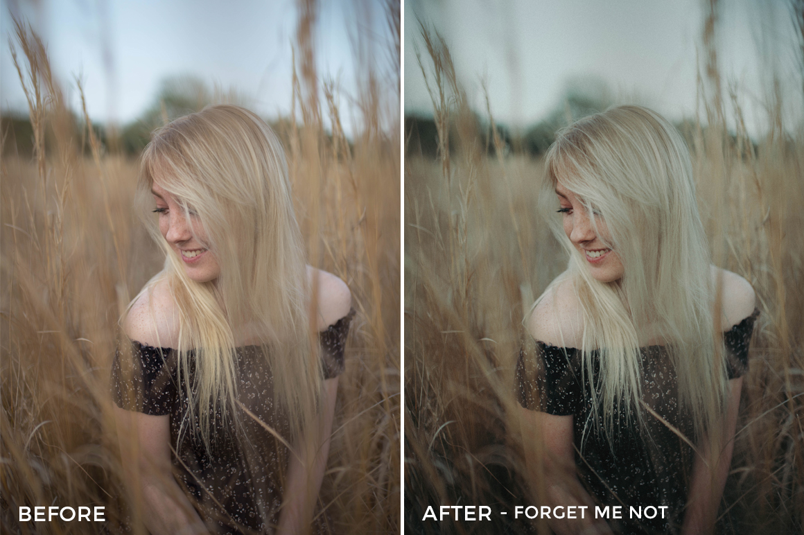 Forget Me Not 2 - CHILL + CHEER Lightroom Presets by Payton Hartsell - FilterGrade