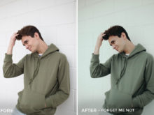 Forget Me Not 1 - CHILL + CHEER Lightroom Presets by Payton Hartsell - FilterGrade