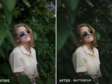 Buttercup - CHILL + CHEER Lightroom Presets by Payton Hartsell - FilterGrade