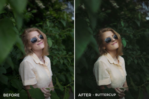 Buttercup - CHILL + CHEER Lightroom Presets by Payton Hartsell - FilterGrade