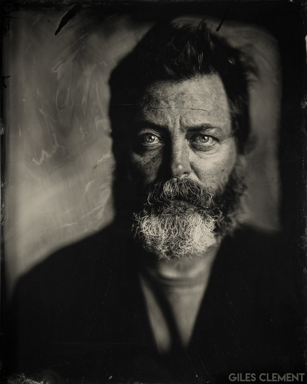 Giles Cement - Nick Offerman - What is an Ambrotype? - FilterGrade