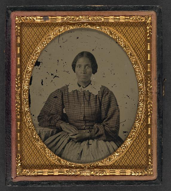 Unidentified African American Woman - What is an Ambrotype? - FilterGrade