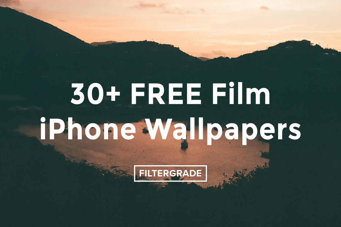 Download over 30+ Free iPhone Wallpapers taken with film from FilterGrade.
