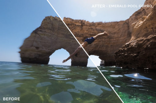 Emerald Pool GoPro - Filippo Cinotti Lightroom Presets - FilterGrade