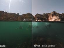Dome Visions - Emerald GoPro - Filippo Cinotti Lightroom Presets - FilterGrade