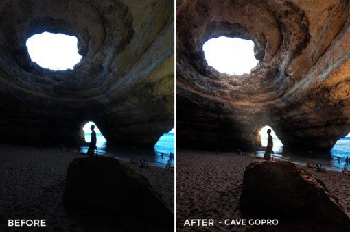 Cave GoPro- Filippo Cinotti Lightroom Presets - FilterGrade