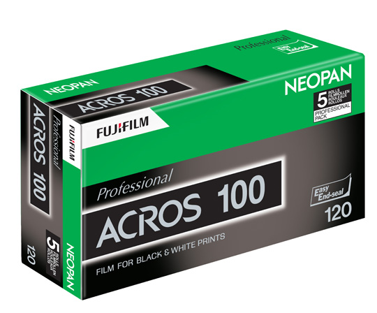 Fuji Neopan 100 Acros to Be Discontinued in October 2018, Report Says - FilterGrade