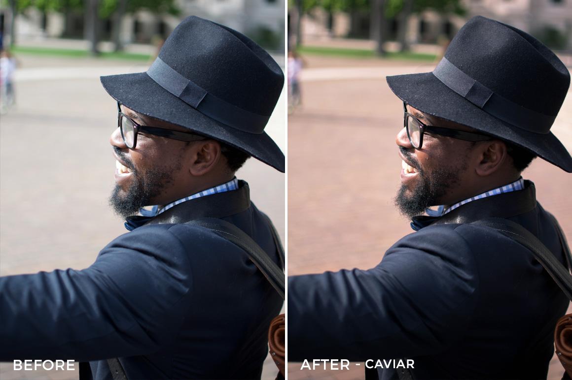caviar fashion lr preset