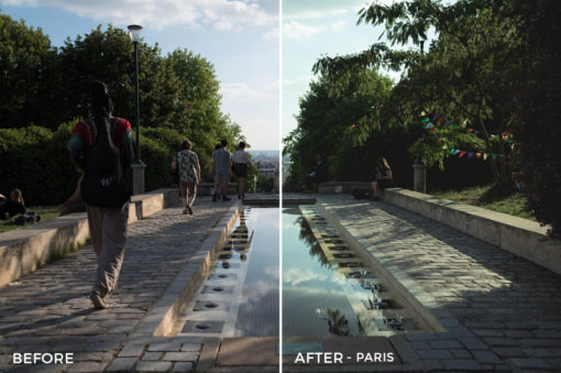 paris agency lightroom presets