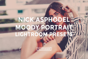 Nick Asphodel Moody Portrait Lightroom Presets - FilterGrade