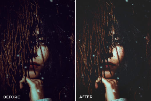8 Nick Asphodel Moody Portrait Lightroom Presets - FilterGrade