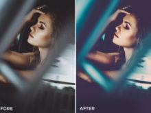 4 Nick Asphodel Moody Portrait Lightroom Presets - FilterGrade