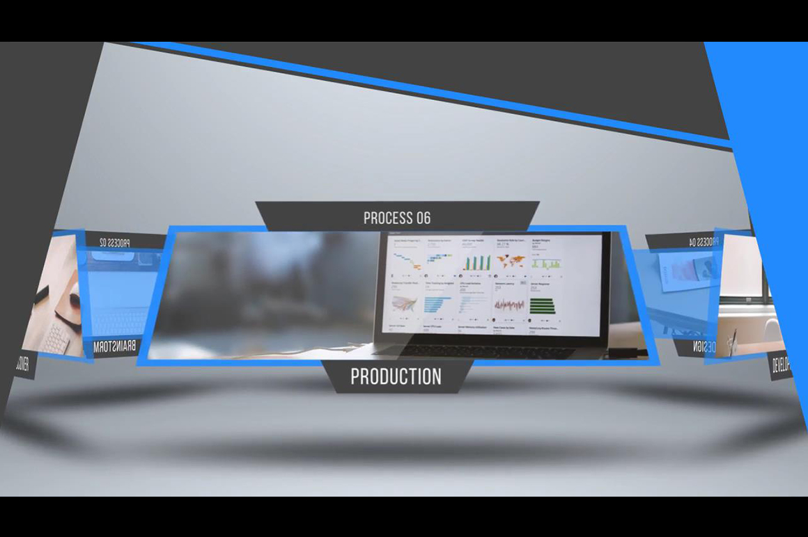 professional corporate presentation template after effects