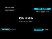 intros and outros motion graphics ae template