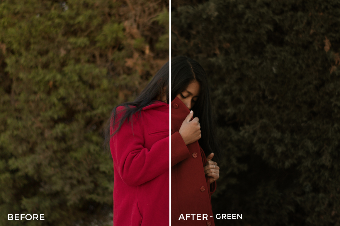 Green - Kevin Alejandro Lightroom Presets - FilterGrade