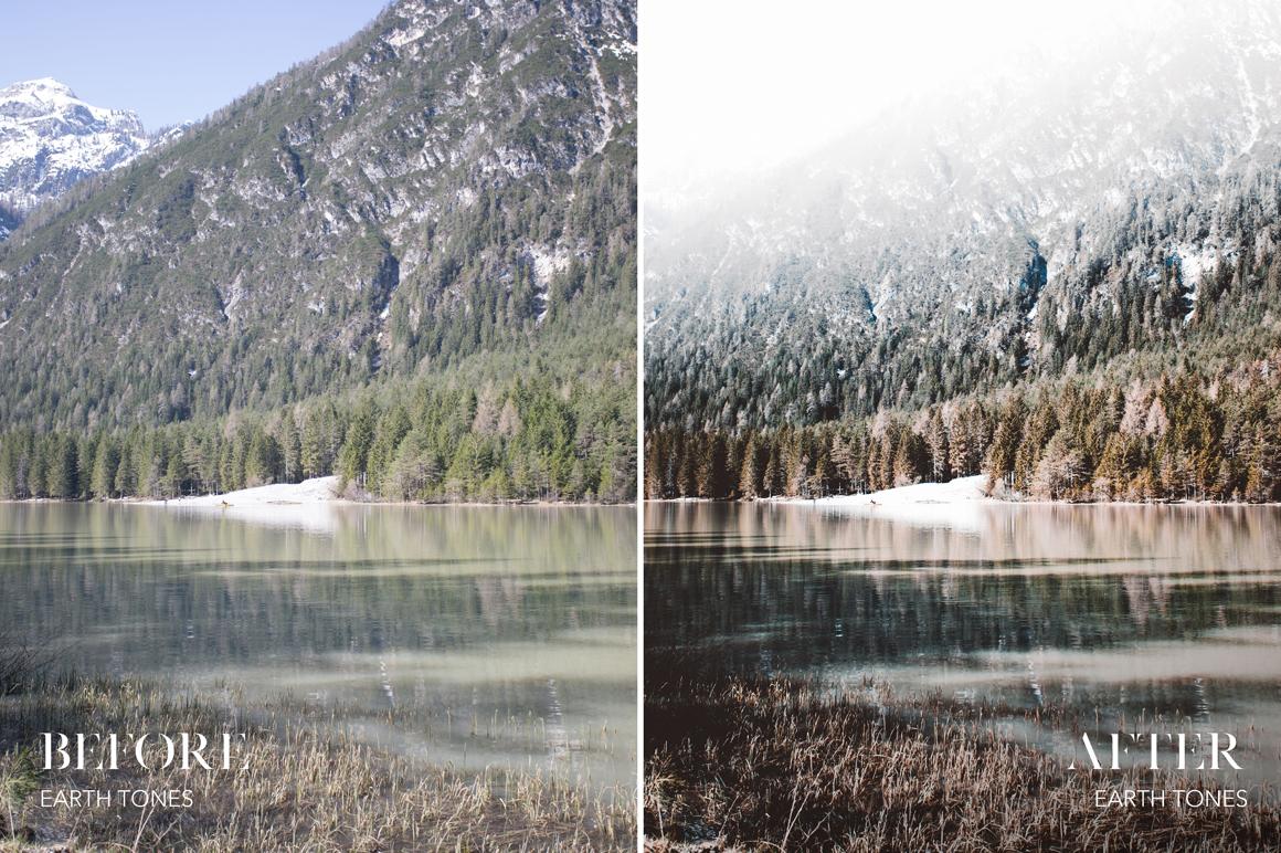 Earth Tones - Joshua Fuller Lightroom Presets Vol. 4 - Dolomites - FilterGrade