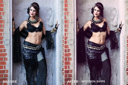 Wooden Ships - Russell Cardwell Vintage 01 LUTs - FilterGrade