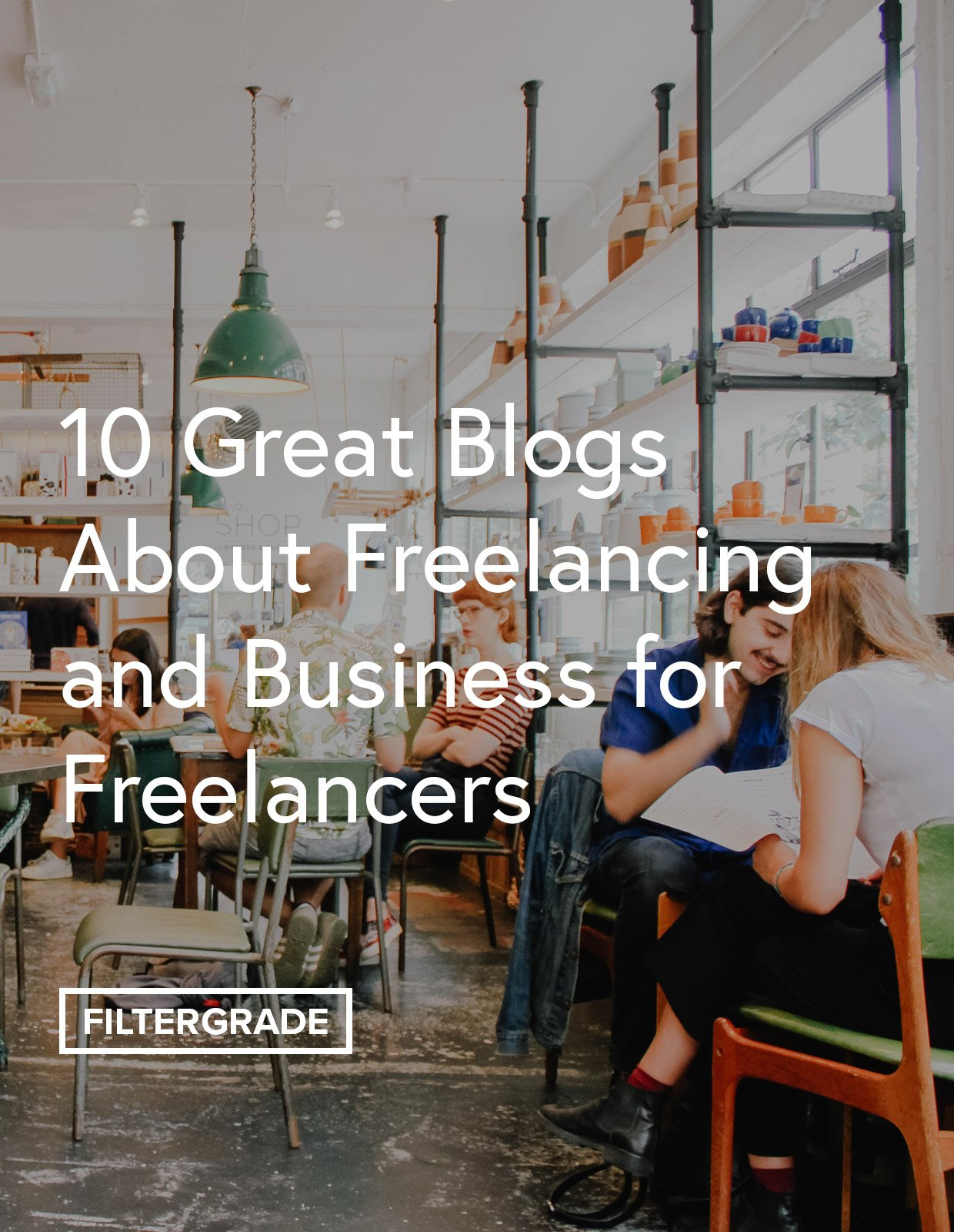 Looking at great blogs and websites to learn about freelancing and the business side of being a freelancer.