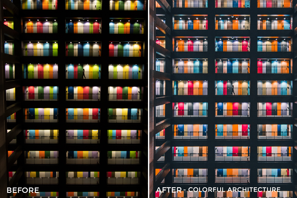 Colorful Architecture - Nicholas Ku Lightroom Presets - Kui Fai Ku - FilterGrade
