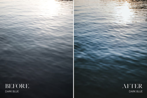 *Dark Blue - Joshua Fuller Lightroom Presets Vol 2 - Garda - FilterGrade
