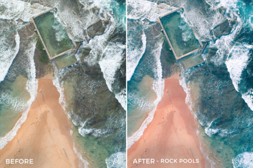 Rock Pools - Joshua Britton Lightroom Presets - FilterGrade