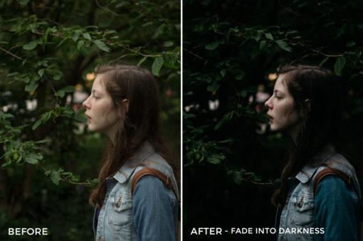 Fade into Darkness - Marcus Lindberg Lightroom Presets - FilterGrade