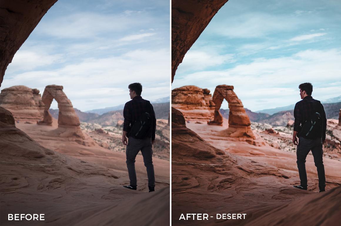Desert - Marcus Lindberg Lightroom Presets - FilterGrade