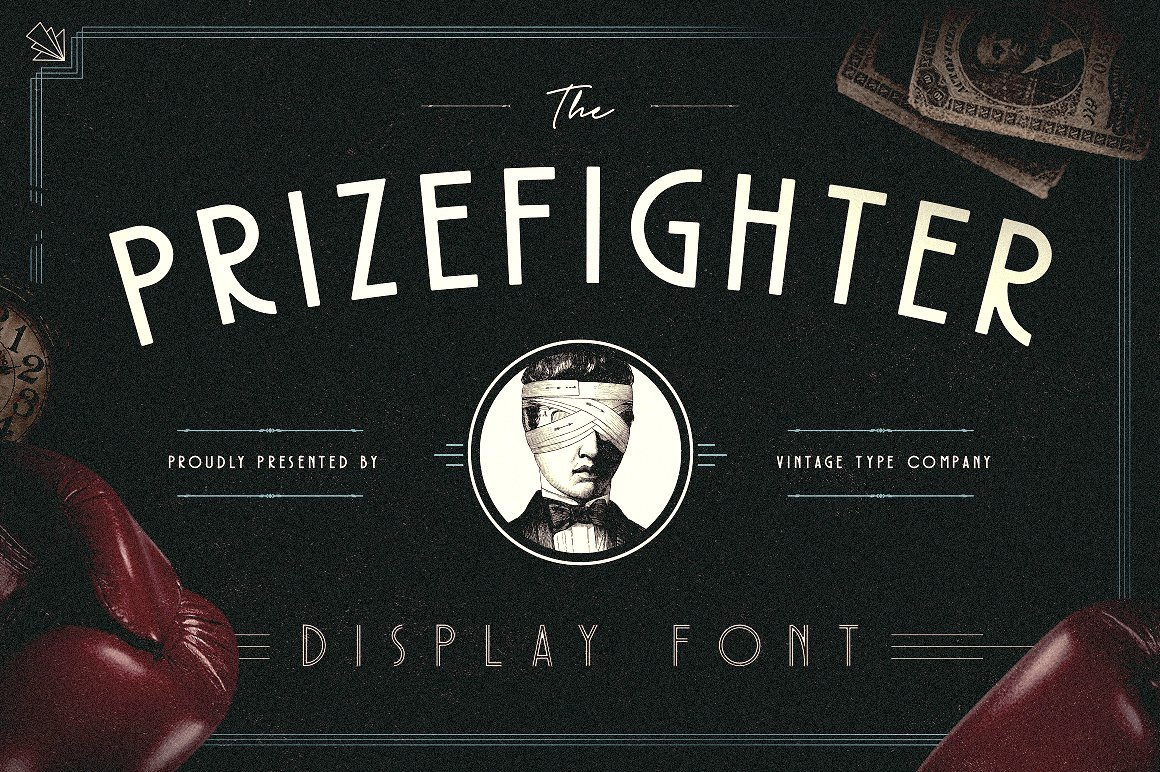 prizefighter deco display type